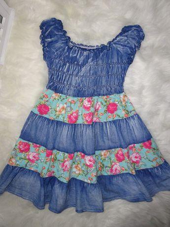 Sukienka dla dziewczynki 128r