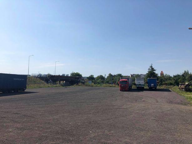 parking tir autobus samochody osobowe, plac utwardzony