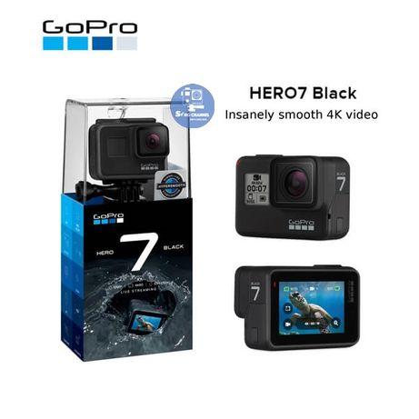 GoPro 7 Black . 4K . Em perfeito estado