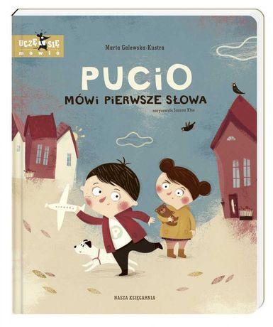 Pucio mówi pierwsze słowa. Książka