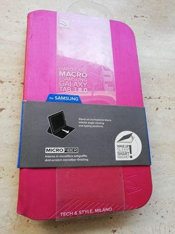 Case Samsung Galaxy tablet 3 8. 0 TUCANO różowy róż