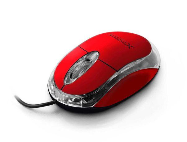 Myszka przewodowa Extreme czerwona