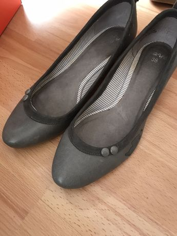 Sapatos senhora cinzentos n38