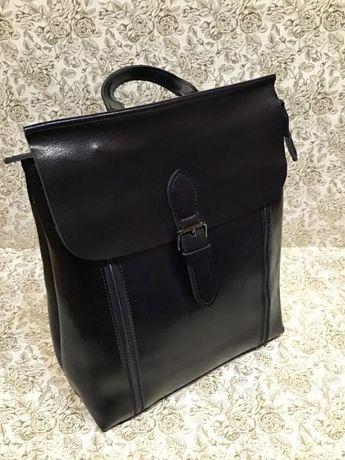 Кожаный рюкзак. Натуральная кожа.