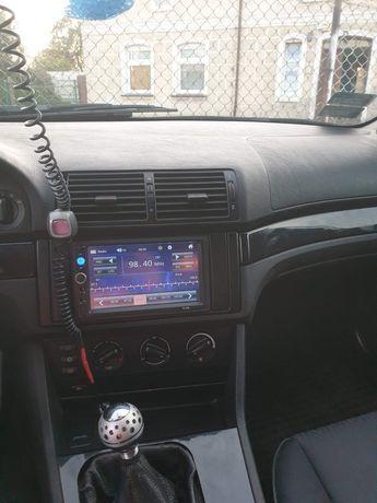 Zestaw e39 e39 e53 x5 Radio + Ramka komplet do montażu w aucie! Nowe!