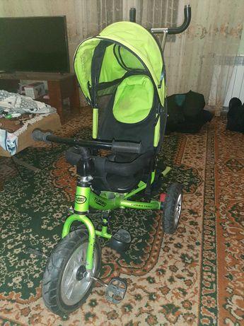Велосипед (надувные колеса) Turbo Trike M 3113 детский трехколесный