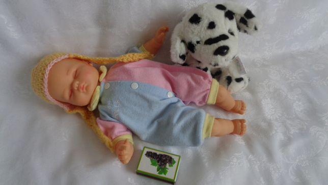 Lalka Śpiący Bobas -32cm Gratis Maskotka