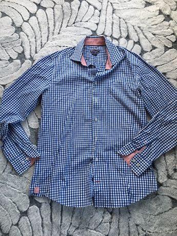 Koszula Tommy Hilfiger 40 - Fitted Tailored - Kratka