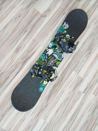 Deska snowboardowa z wiązaniami K2 o długości 130cm