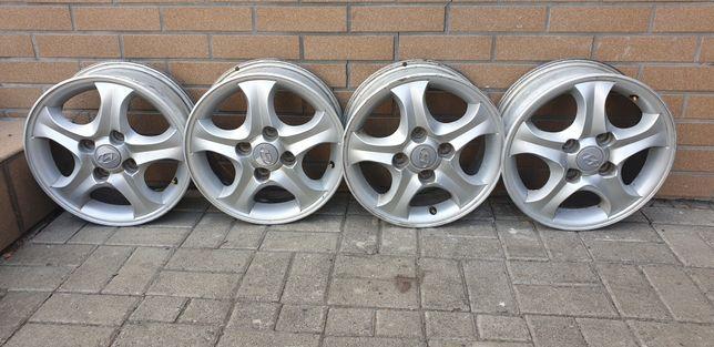Felgi Aluminiowe 15' Cali 4x114,3 ET 46 Hyundai Daewoo Chevrolet