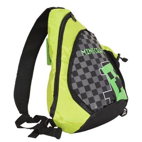 ZESTAW Minecraft plecak zielony worek długopis wkłady