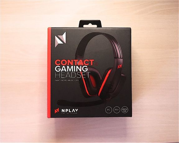 Contact Gaming Headset 2.0 N'Play
