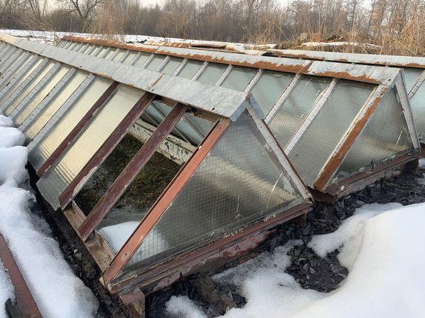 Świetliki dachowe na hale, warsztat, magazyn