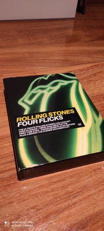4 DVD'S Rolling Stones Four Flicks