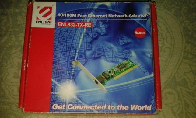 Интернет адаптер ENCORE ELEKTRONICS (ENL832-TX-RE) Realtek