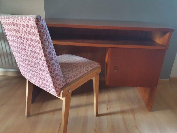 Biurko Prl , krzesło prl