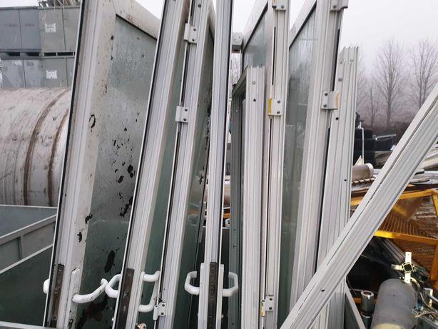 Używane Okna i Drzwi Aluminiowe z demontazu