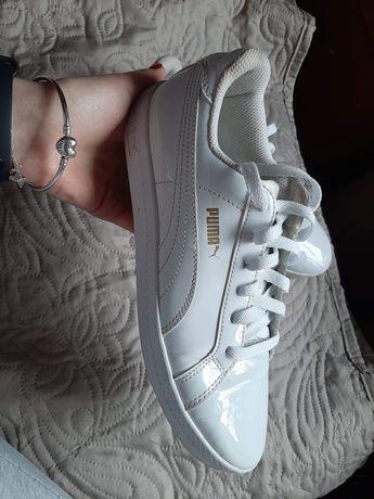 Damskie buty puma białe