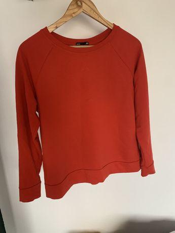 Czerwona bluza H&M