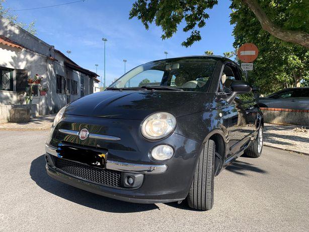Fiat 500c (cabrio) - capota avariada