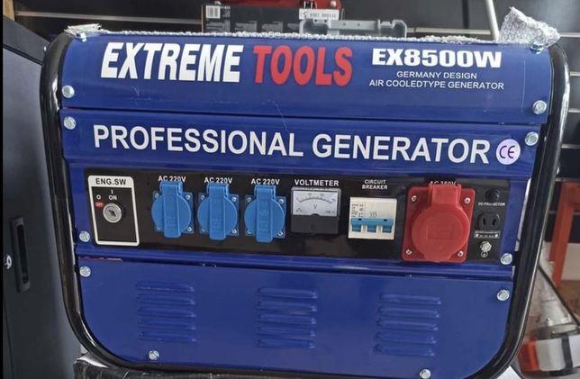 Gerador 8500w a gasolina trifásico e monofásico envios possíveis