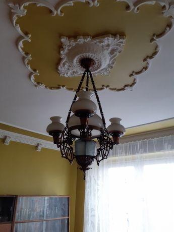 Lampy mosiężne 2 sztuki