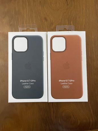 Capas Iphone 12/12Pro MagSafe Pele