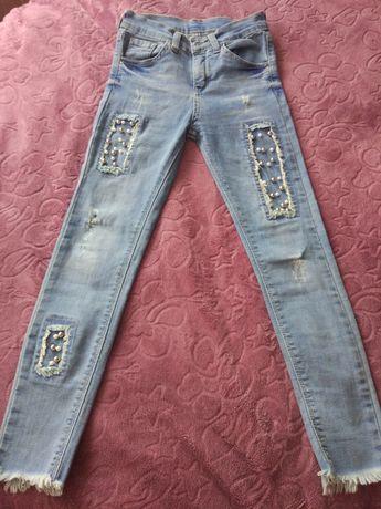 Продам джинси для дівчинки 6-7 років