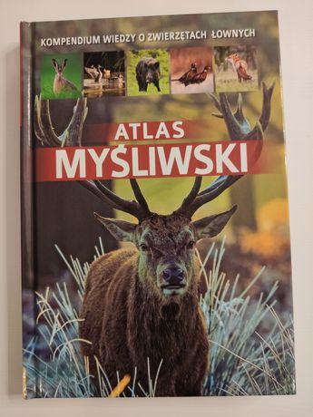 Atlas myśliwski łowiectwo zwierzyna łosie kuny lisy jenoty straż leśna