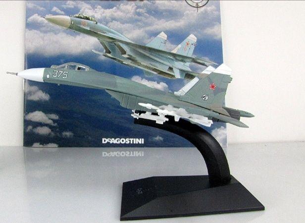 Легендарные самолёты Модель Су-27 1:100