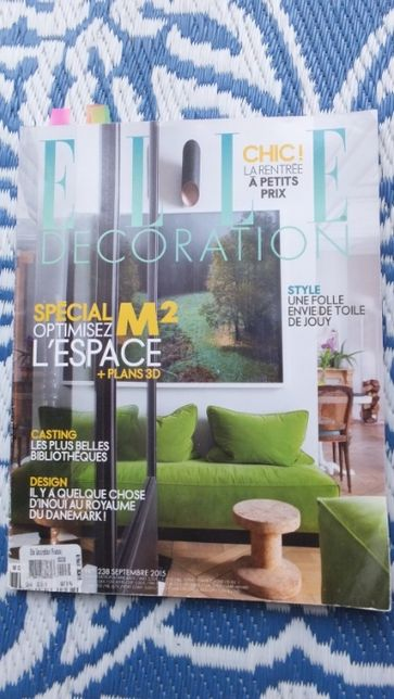 gazeta elle decoration, francuskie