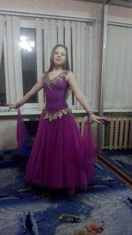 Бальное платье стандарт