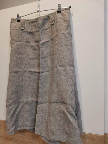Spódnica C&A lniana rozmiar 40