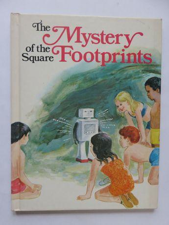 The Mystery of the Square Footprints. Książka dla dzieci w j.ang.