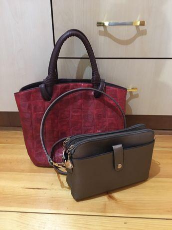 Бронь!!!Красная сумка, сумочка на плечо