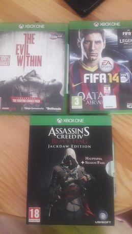 Xbox one 3 gry .