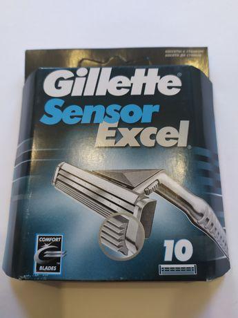 Gillette sensor excel 10шт.