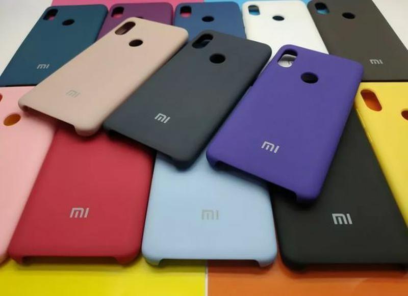 Чохол Silicone Case Xiaomi Redmi Note 6 7 8 9 10 Pro Max Poco Mi Lite Львов - изображение 1