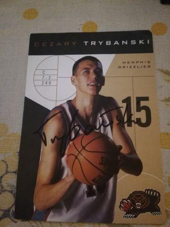 Autograf- Cezary Trybański