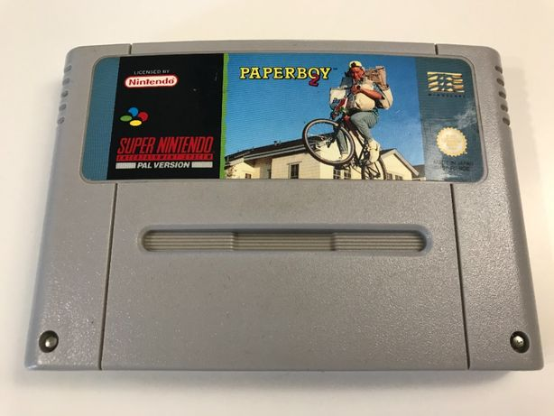 Paperboy 2 Super Nintendo SNES