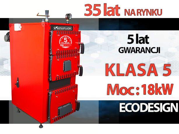 Kocioł ZASPYOWE na WĘGIEL Klasa 5 Ecodesign 18Kw Kotły PIEC 11-27Kw