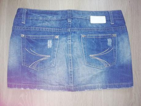 Spódniczka jeans dżins dżinsowa 27 34 36 XS S DIVERSE