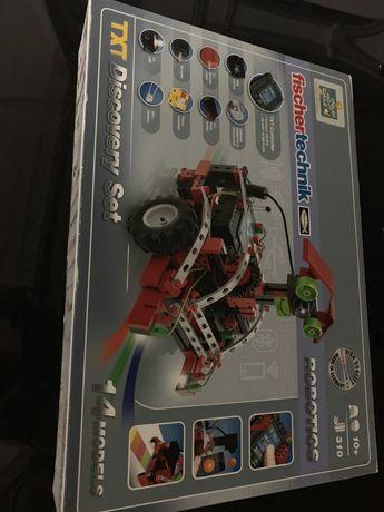 Robótica fischertechnik discovery set