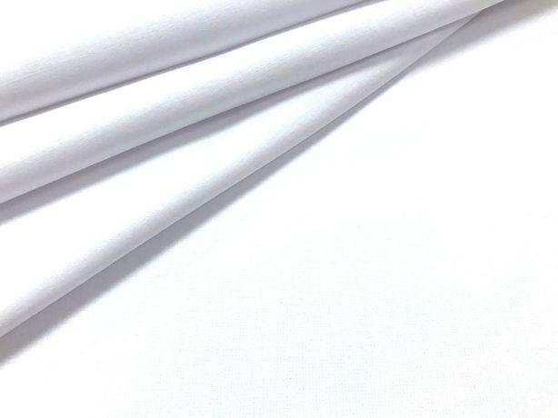 Tkanina bawełniana biała na maseczki, Gramatura: 130 g/m2