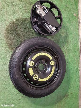 Jante suplente Mercedes Roda de socorro R17 Kit completo com macaco chave de roda