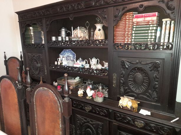 Mobilia de sala antiga