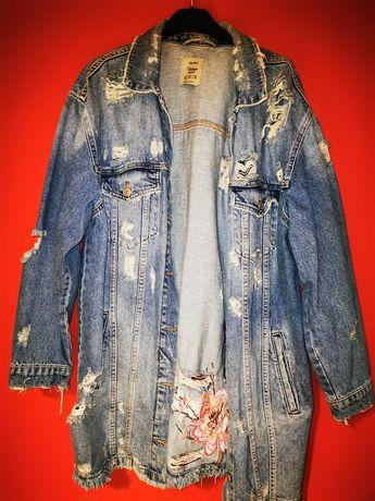 Kurtka jeansowa Bershka