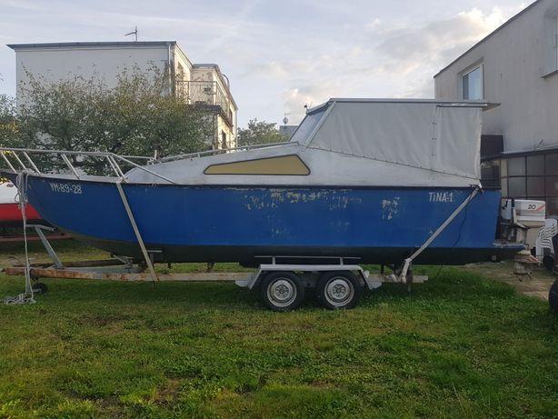 Motorówka  ALUMINIOWA łódź motorowa