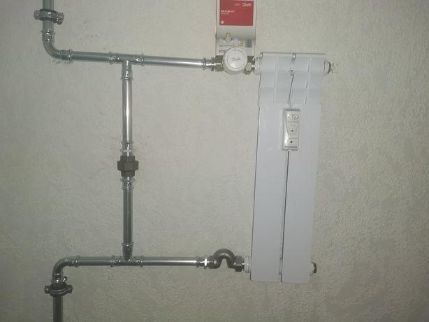 Сантехнические работы и вентиляции с рекупирация