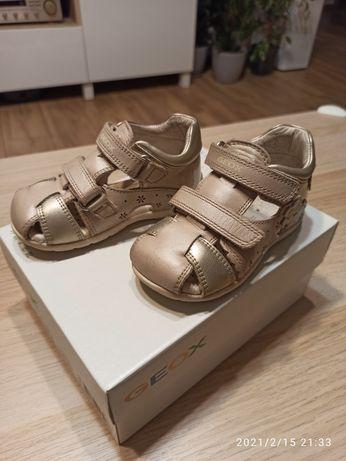 Skórzane sandały Geox rozm. 21